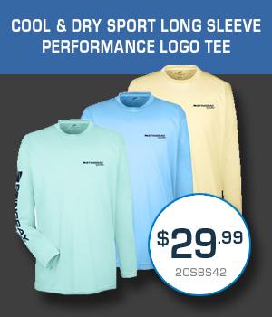 20SBS42 Cool&Dry Sport Long Sleeve Performance Logo Tee