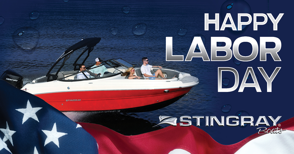 Happy Labor Day from Stingray Boats